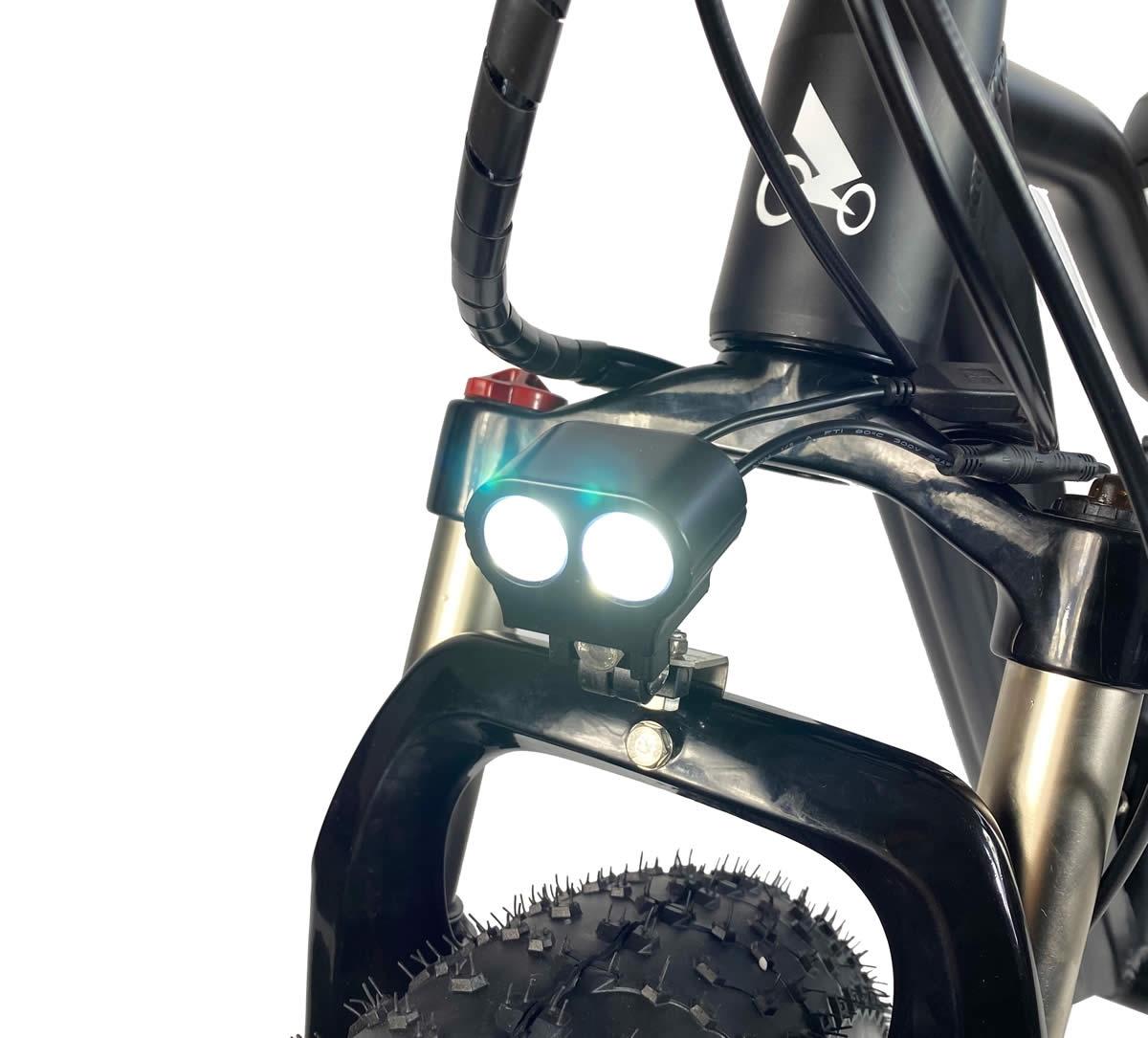 Światło LED, wodoodporne okablowanie i zawieszenie blokady
